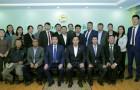 Монго улсын Засгийн газрын гишүүн, ХХААХҮСайд  Б.Батзориг ХХААГазрын үйл ажиллагаатай танилцав
